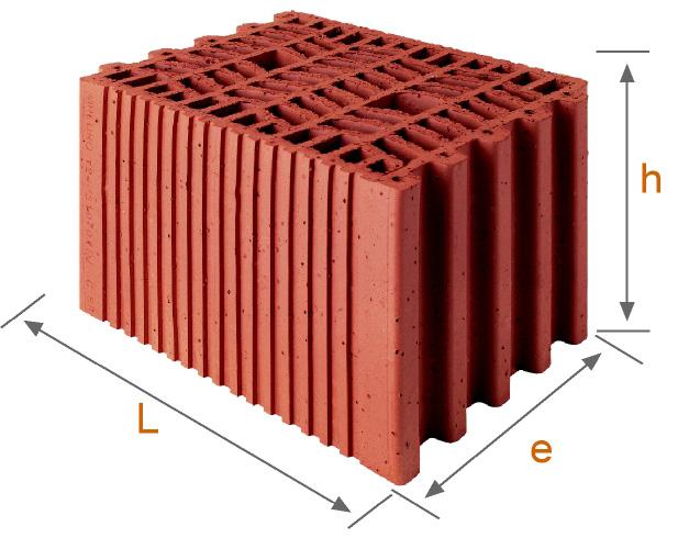 Precio ladrillo termoarcilla materiales de construcci n - Precio ladrillo macizo ...
